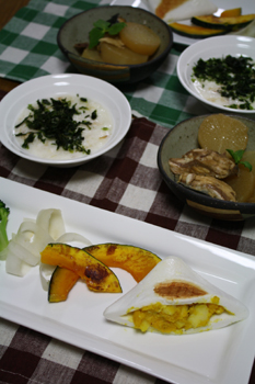 ブリ大根と野菜のプレート
