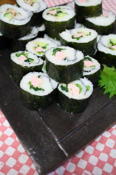 魚肉ソーセージ巻き