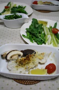 野菜の蒸し焼き