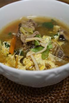 ピリ辛スープ