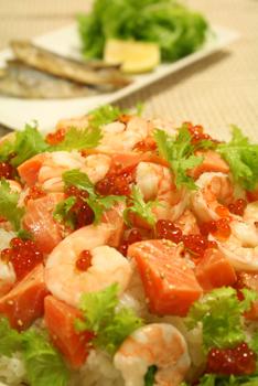ロミロミサーモン寿司