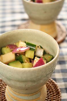 コロコロ野菜のサラダ