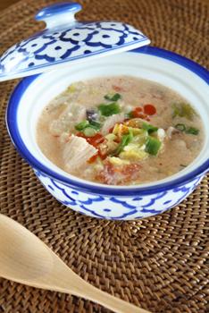 豆乳辛味噌スープ