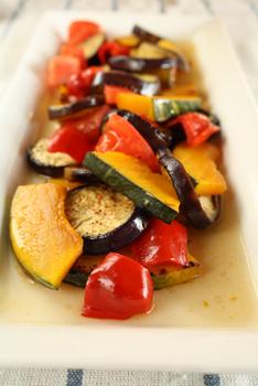 焼き野菜の和風マリネ