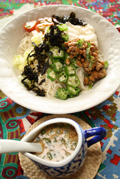 ネバネバ麺