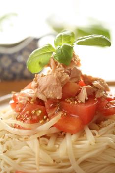 ツナトマ素麺