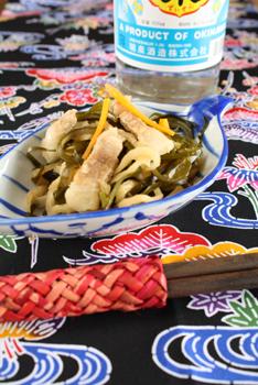 沖縄風昆布の煮物
