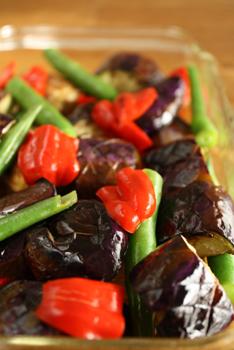 焼き野菜のポン酢マリネ