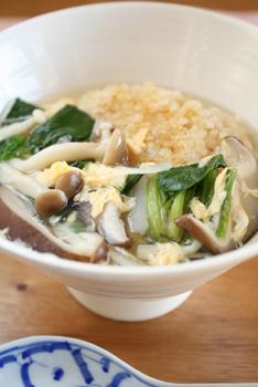 焼きおにぎり野菜スープ