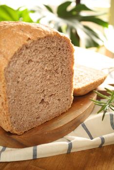 小麦ふすま入りパン