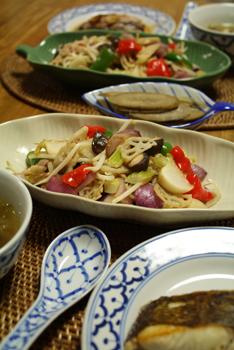 カラフル野菜の塩麹炒め