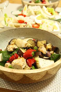 鶏の野菜炒め