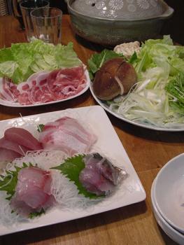 海鮮しゃぶしゃぶ料理