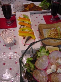 料理,夕食写真