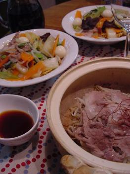 豚ともやしの簡単土鍋蒸し
