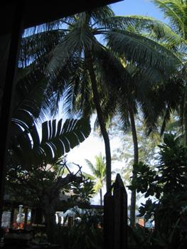 プーケットホテル内の景色