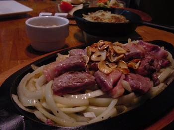 牛の一口ステーキ