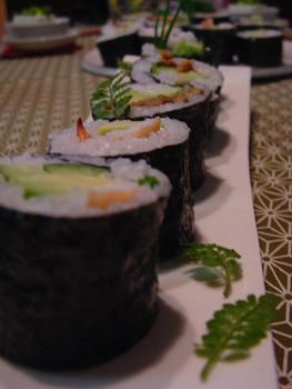 巻き寿司横から