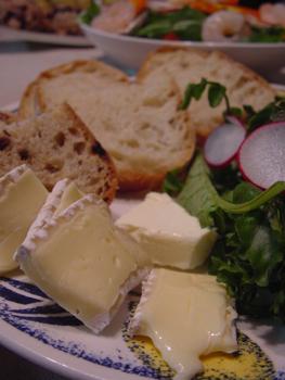 チーズとPAULのパン