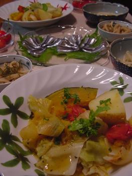 夏野菜のスープ煮