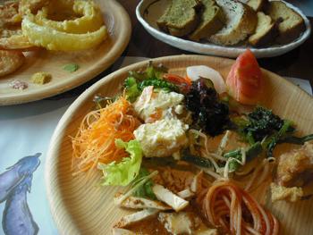 和食のビュッフェ