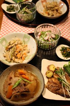 秋の和食膳