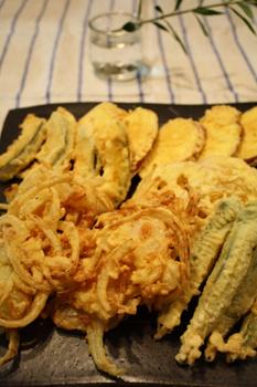 野菜天ぷら