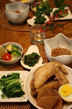 鶏手羽の煮こみ