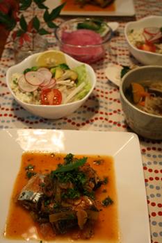 秋刀魚のトマト煮