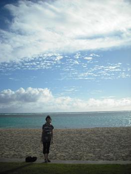 アラモアナのビーチ
