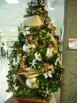 空港のツリー