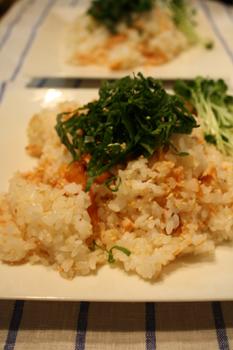 簡単まぜ鮭寿司