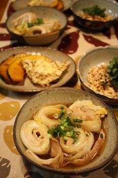 豚バラ白菜巻き