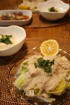 豚と白菜蒸し